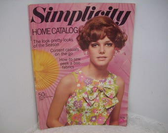 Simplicity Home Catalog Spring Summer 1968