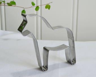 Dala horse cookie cutter  , Swedish new unused baking supply , Christmas ornament