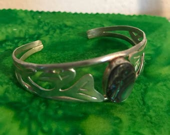 Silver bracelet made in Mexico