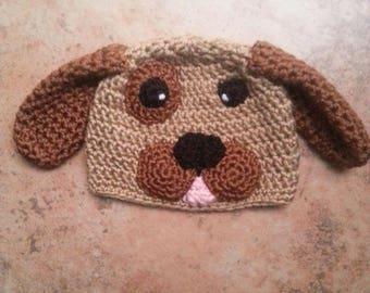 Newborn Puppy Hat Newborn Puppy Beanie Baby Puppy Hat Baby Puppy Beanie Newborn Puppy Hat Prop Newborn Puppy Toque Baby Puppy Toque