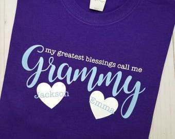 Grandma's Greatest Blessings Shirt