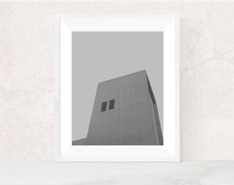 Digital download | SLAB | Architectural photo print | minimalist home decor | brutalism photo | printable wall art | modern urban art print