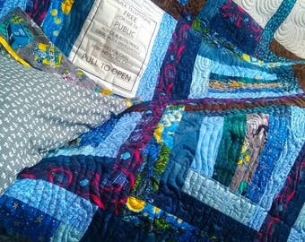 Dr. Who quilt. Twin size