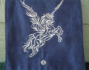Pegasus Embroidered Belt Pouch / Festival Pouch / Hip Pouch