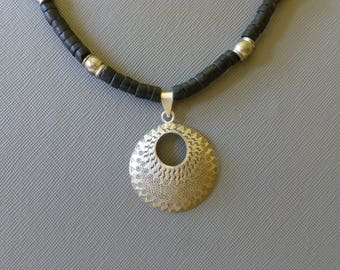 Thai Silver Pendant Necklace