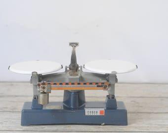 Vintage Cenco Scientific Laboratory Balance Scale by Dutch Company Cenco