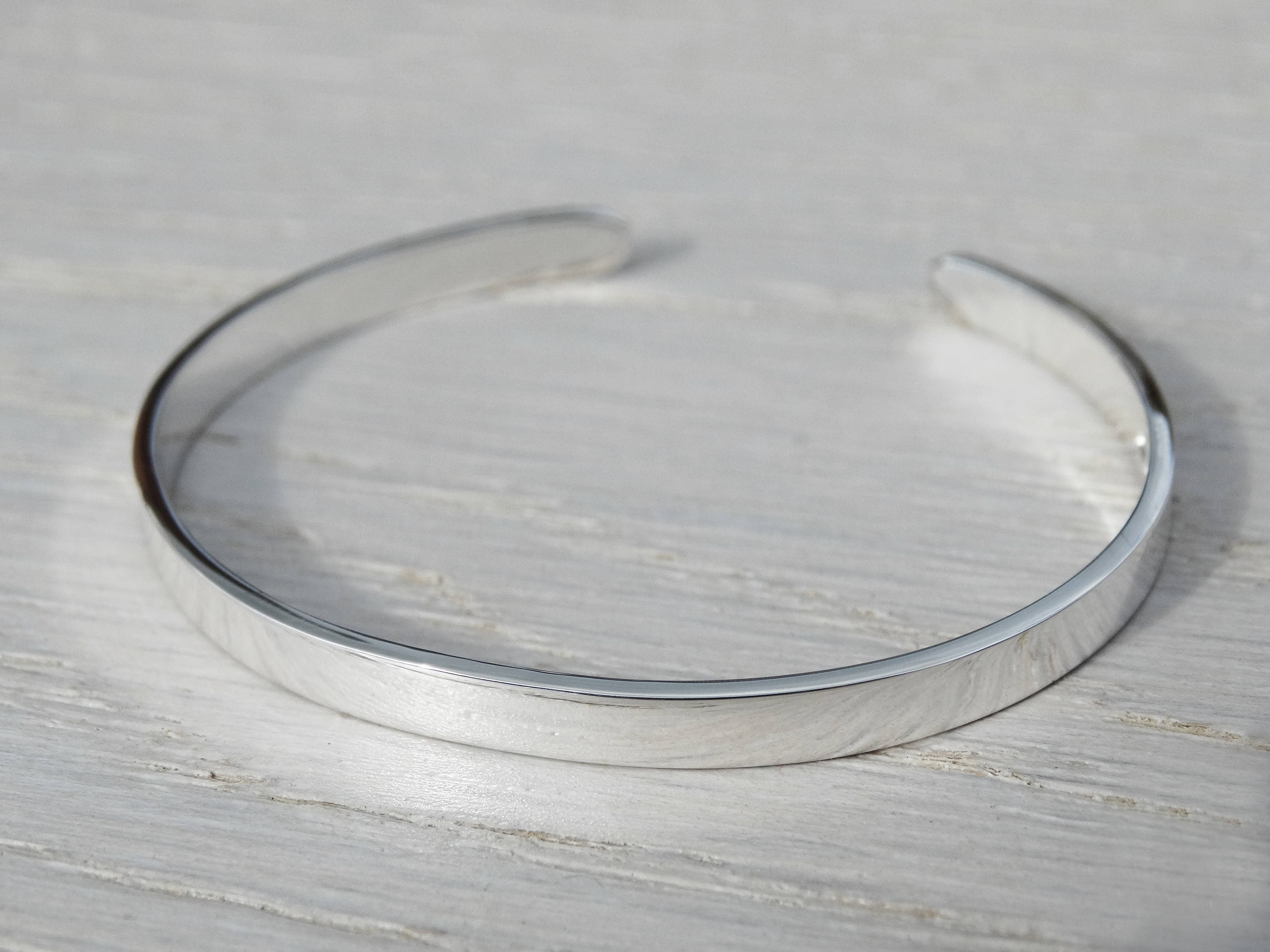 e8b2254f3d7f Sterling Silver Childrens Bangle - Christening Bracelet