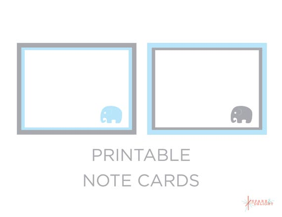 il_570xn - Printable Note Cards