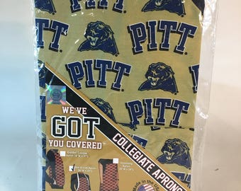 University of Pittsburgh BBQ Apron-Pittsburgh Panthers Apron