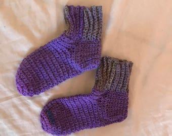 Handmade crocheted Socks