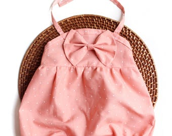 Baby Bubble Romper, Pink Romper, Baby Romper, Coming Home Outfit, Girl Romper, Playsuit, Baby Bubble Romper, Toddler Romper, Baby Clothes