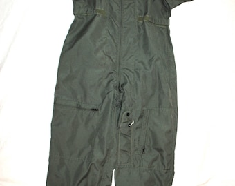 Genuine Us Air Force Issue Green Nomex Flight Suit Cwu-27/p - Size 40L