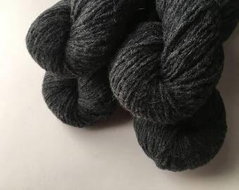 Reclaimed DK Yarn - Wool/Nylon - Charcoal Heather