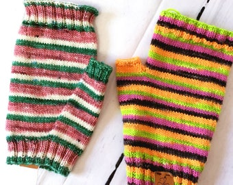 Instant Download - Alag Fingerless Mitts - PATTERN ONLY