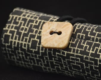Black and Tan Pen Roll