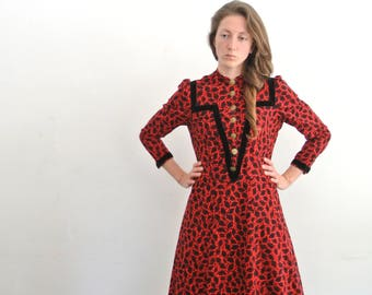 70s hippie dress