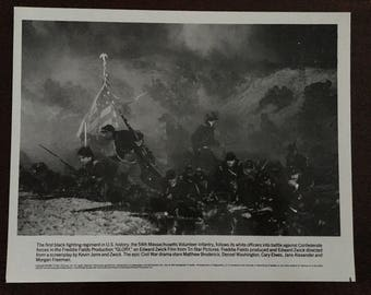 Movie photo from Glory.