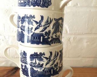 Set of 4 coffee Mugs