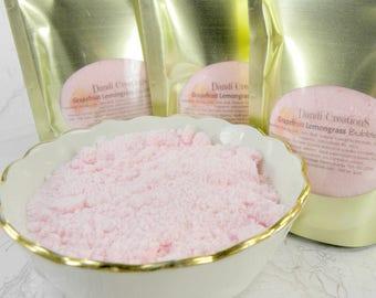 GRAPEFRUIT LEMONGRASS Bubble Dust-bath bombs-bath fizzies-wholesale bath-bath and body-bath-bubble powder-bubble bath-gift ideas