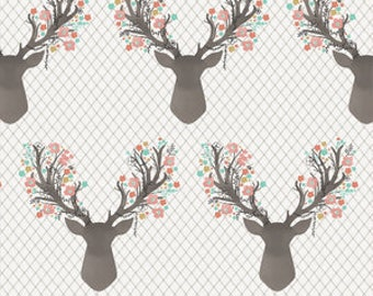 Floral Fawn Bumper Pads