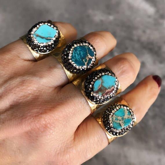 Ocean Jasper Rings