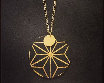 collier reversible geometrique