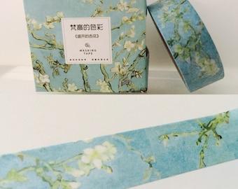 Van Gogh Almond Tree Blossoms Boxed Washi Tape