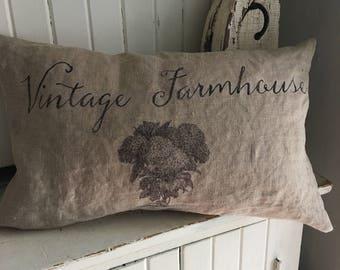 Vintage Farmhouse Pillow