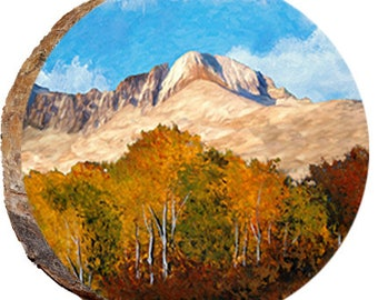 Longs Peak with Colorful Aspens - DCP471