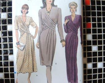 vintage 1990s Vogue sewing pattern 7939 misses dress sizes 18-20-22 UNCUT