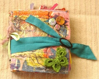 Scrapbook Paper & Fabric Album