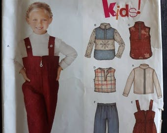 New Look 6237, Child's Winter Clothing