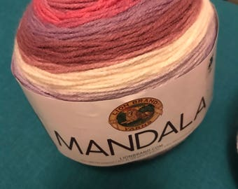 Lion brand mandala yarn wood nympth
