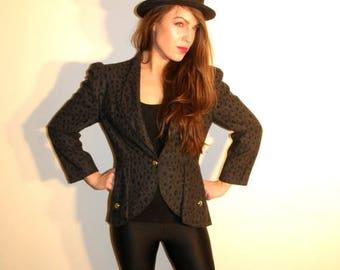 SALE Vintage Grey Jacket Size 36