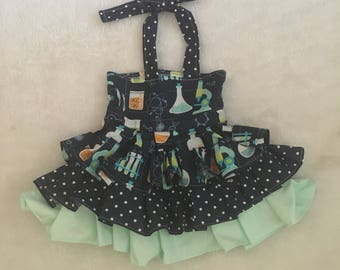 Back to School,OTT, Pageant, OOC, Boutique Style size Ruffle dress NB 3  6 9 12 24 months, size 2 3 4 5T