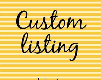 Custom order Manda