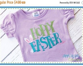 40% OFF INSTANT DOWNLOAD Hoppy Easter applique design in digital format for embroidery machine by Applique Corner