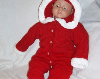 Red Santa combination for baby.