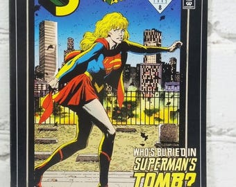 ON SALE Action Comics Number 686. February 1993. Supergirl. Funeral for a Friend. Lex Luthor. Vintage DC Comic Book. Super Gifts for Super G