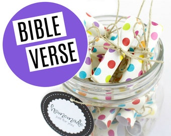 Bible Verse Joy Jars