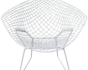 on sale vintage 1960u0027s midcentury modern knoll diamond chair by harry bertoia