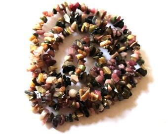 Tourmaline Gemstone Chip Beads