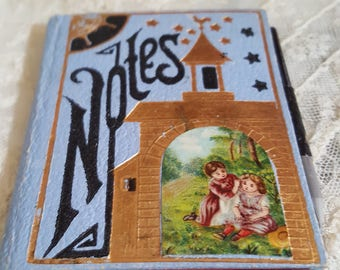 Vintage Doll Book for Writing Notes