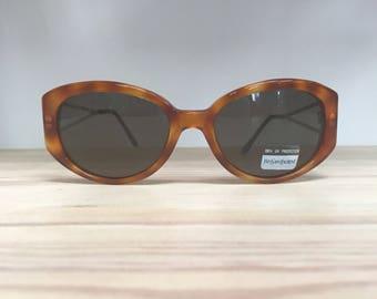 Vintage sunglasses YSL 6564 tortoise