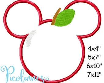 Custom Apple Mouse Embroidered Vacation Shirt - Fruity Family Vacation shirt! 909