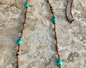 Long Turtle Necklace
