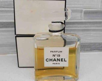 1990s Chanel No. 19 Perfume 1/2 oz.
