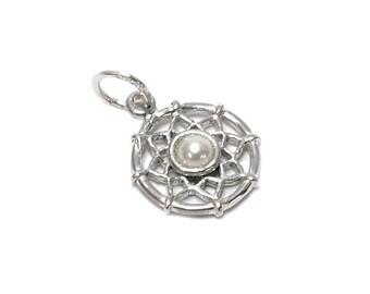 Sterling Silver Dreamcatcher Birthstone June Charm For Bracelets