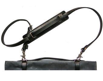 Knife Roll Shoulder Strap Black