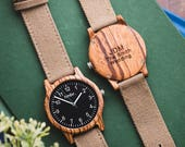 Wood Watches Groomsmen Gift Set | Men's Gift | Groomsmen Gift Ideas | Personalized Wedding Gifts | Best Man Gift